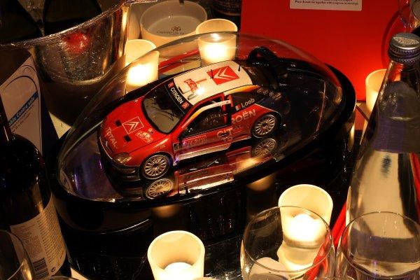 2006 Autosport AwardsGrosvenor House Hotel, London. 3rd December 2006.Sebastien Loeb Citroen WRC table centre.World Copyright: Peter Spinney/LAT Photographicref: Digital Image RK4O2554