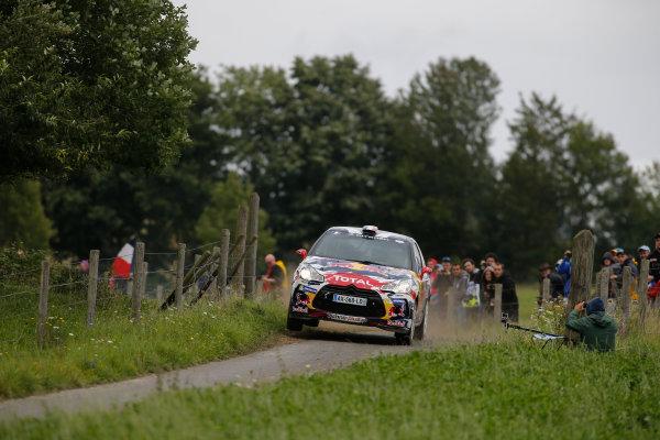 2014 World Rally Championship Rallye Deutschland 21-24 th August 2014 Stephane Lefebvre, Citroen WRC3, Action Worldwide Copyright: McKlein/LAT