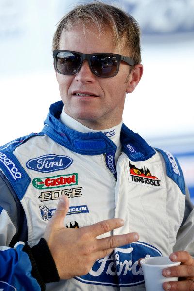Round 09-Rallye Deutschland 23-26/8-2012.Petter Solberg, Ford WRC, Portrait.Worldwide Copyright: McKlein/LAT