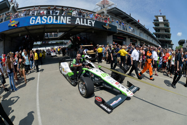 27 May, 2016, Indianapolis, Indiana, USA Bryan Clauson Gasoline Alley ?2016, Scott R LePage  LAT Photo USA