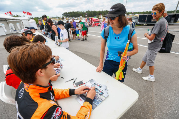 7-9 July 2016, Bowmanville, Ontario Canada Autograph Session ?2016, Jake Galstad LAT Photo USA