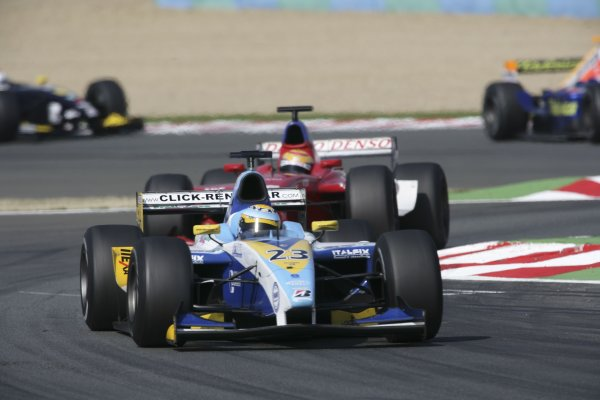 2006 GP2 Series. Round 7 . Magny-Cours, France. 16th July.Sunday Race Sergio Hernandez (ESP, Durango). Action.  World Copyright: Charles CoatesGP2 Series Media Service. ref: Digital Image ZK5Y9408