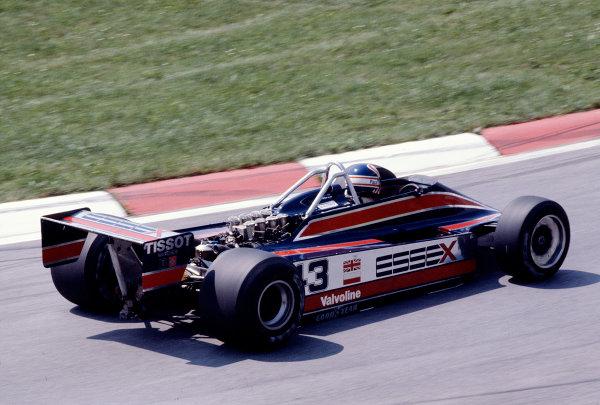 1980 Austrian Grand Prix.Osterreichring, Zeltweg, Austria.15-17 August 1980.Nigel Mansell (Lotus 81B Ford).Ref-80 AUT 25.World Copyright - LAT Photographic