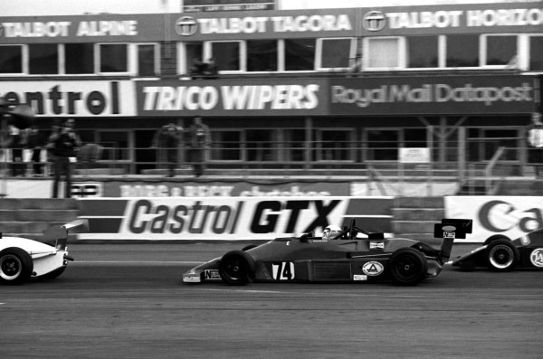 Calvin Fish (GBR), Van Diemen.