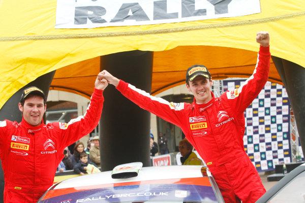 2014 MSA British Rally Championship, Pirelli Carlisle R B Foundation Rally. 3rd - 4th May 2014. Osian Pryce / Dale Furniss Citroen DS3 R3T. World Copyright: Ebrey / LAT Photographic.