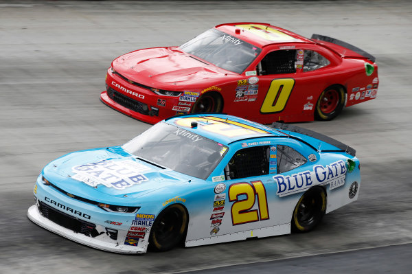 NASCAR Xfinity Series Fitzgerald Glider Kits 300 Bristol Motor Speedway, Bristol, TN USA Saturday 22 April 2017 Daniel Hemric World Copyright: Matthew T. Thacker LAT Images ref: Digital Image 17BMS1mt1349