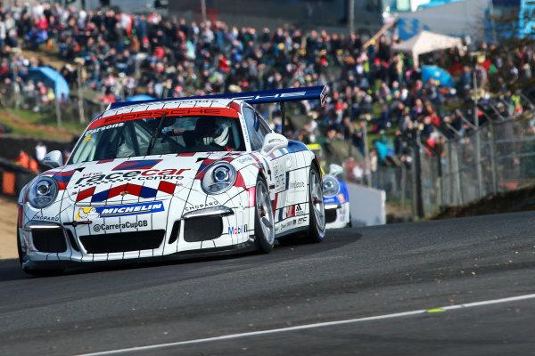 2017 Porsche Carrera Cup GB Brands Hatch, 1st-2nd April 2017 Peter Parsons (GBR)  World Copyright. JEP/LAT Images