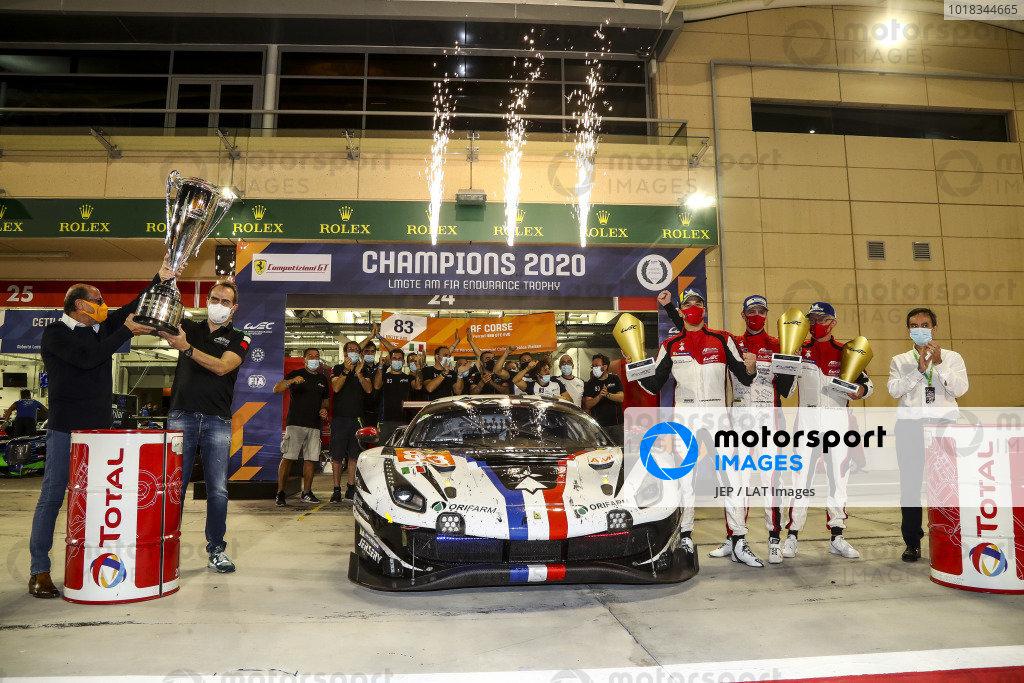 #83 AF Corse Ferrari 488 GTE EVO: Francois Perrodo, Emmanuel Collard, Nicklas Nielsen