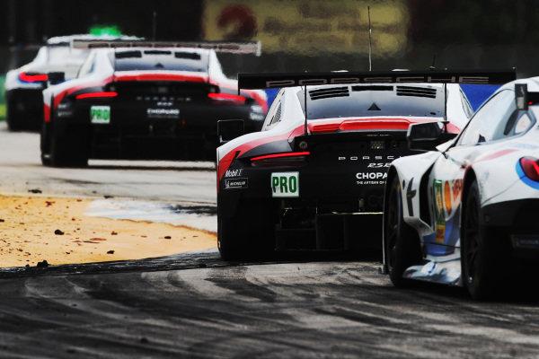 #91 Porsche GT Team Porsche 911 RSR: Richard Lietz, Gianmaria Bruni and #92 Porsche GT Team Porsche 911 RSR: Michael Christensen, Kevin Estre