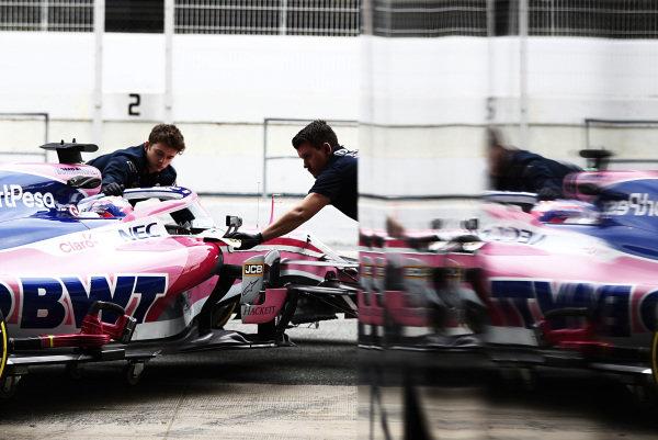 Sergio Perez, SportPesa Racing Point F1 Team RP19 reflection