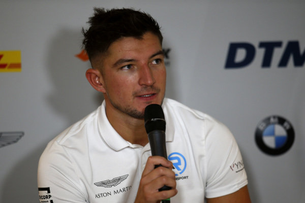 Press Conference, Jake Dennis, R-Motorsport.