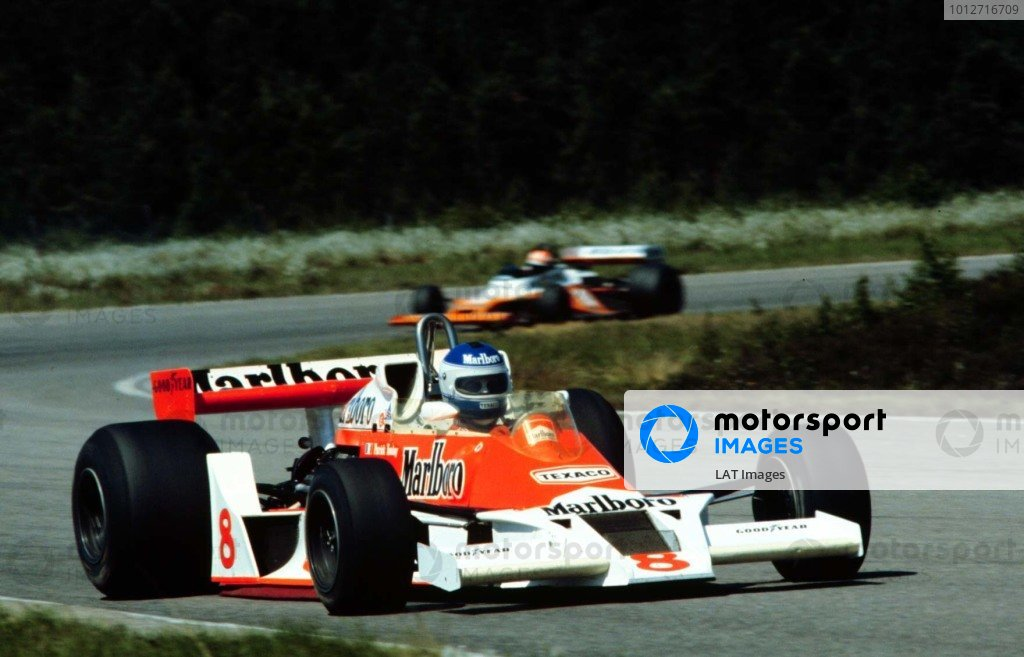 1978 Swedish Grand Prix.Anderstorp, Sweden.15-17 June 1978.Patrick Tambay (McLaren M26 Ford) 4th position.World Copyright - LAT Photographic