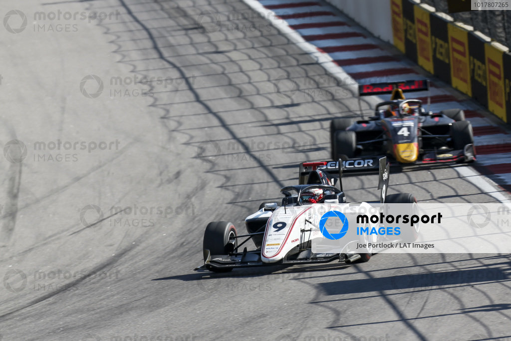 SOCHI AUTODROM, RUSSIAN FEDERATION - SEPTEMBER 29: Raoul Hyman (GBR, Sauber Junior Team by Charouz) during the Sochi at Sochi Autodrom on September 29, 2019 in Sochi Autodrom, Russian Federation. (Photo by Joe Portlock / LAT Images / FIA F3 Championship)