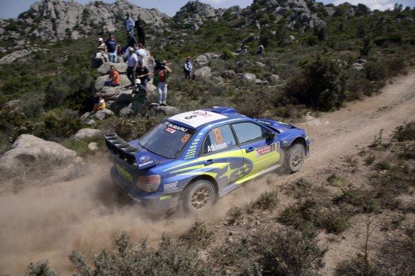 2007 FIA World Rally ChampionshipRound 7Rally Italy Sardinia 200717- 20 of May 2007Chris Atkinson, Subaru, Action.Worldwide Copyright: McKlein/LAT