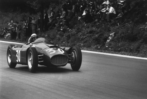 Spa-Francorchamps, Belgium. 3rd - 5th June 1955.
