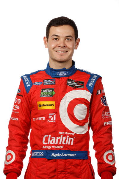 8-10 January, 2016, Daytona Beach, Florida USA Kyle Larson ?2016, Michael L. Levitt LAT Photo USA