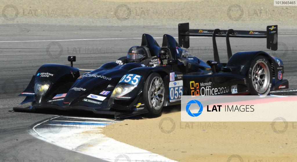 16-18 September, 2011, Monterey, California USA#055 Level 5 Motorsports Lola Honda(c)2011,  Dan R. Boyd  LAT Photo USA
