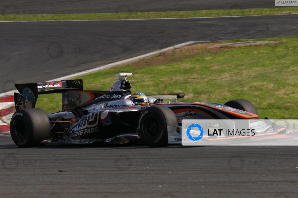 2017 Japanese Super Formula. Fuji, Japan. 8th - 9th July 2017. Rd 3. Winner Hiroaki Ishiura ( #2 P.MU/CERUMO ? INGING SF14 ) action World Copyright: Yasushi Ishihara / LAT Images. Ref: 2017SF_Rd3_004