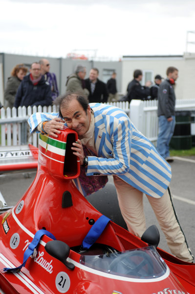 2015 73rd Members Meeting  Goodwood Estate, West Sussex, England 21st - 22nd March 2015 Atmosphere Emmanuele Pirro World Copyright: Jeff Bloxham/LAT Photographic ref: Digital Image DSC_1858