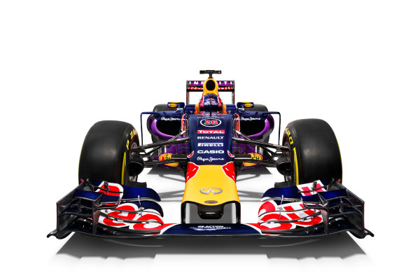 Infiniti Red Bull Racing RB11 Studio Images. Milton Keynes, UK. Sunday 1 March 2015. The Red Bull Racing RB11. Photo: Red Bull Racing (Copyright Free FOR EDITORIAL USE ONLY) ref: Digital Image RB11_LIVERY_04