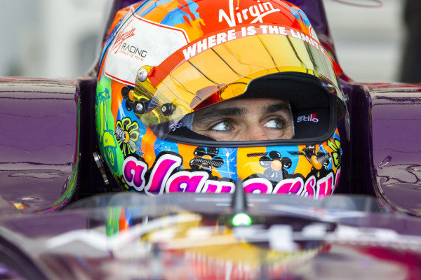 Jaime Alguersuari (ESP) - Virgin Racing at Formula E Championship, Rd8, Berlin, Germany, 23  May 2015.