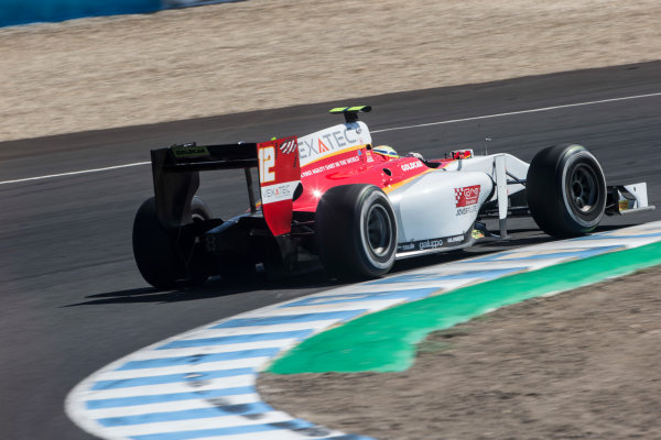 2017 FIA Formula 2 Round 10. Circuito de Jerez, Jerez, Spain. Sunday 8 October 2017. Alex Palou (JPN, Campos Racing).  Photo: Andrew Ferraro/FIA Formula 2. ref: Digital Image _FER3522