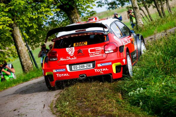 2017 FIA World Rally Championship, Round 10, Rallye Deutschland, 17-20 August, 2017, Kris Meeke, Citroen, action, Worldwide Copyright: McKlein/LAT