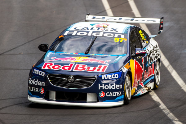 2018 Supercars Championship Adelaide 500, Adelaide, South Australia, Australia Friday 2 March 2018  #97 Shane Van Gisbergen (NZ) Red Bull holden Racing Team  World Copyright: Dirk Klynsmith / LAT Images ref: Digital Image 2018VASC01-03242