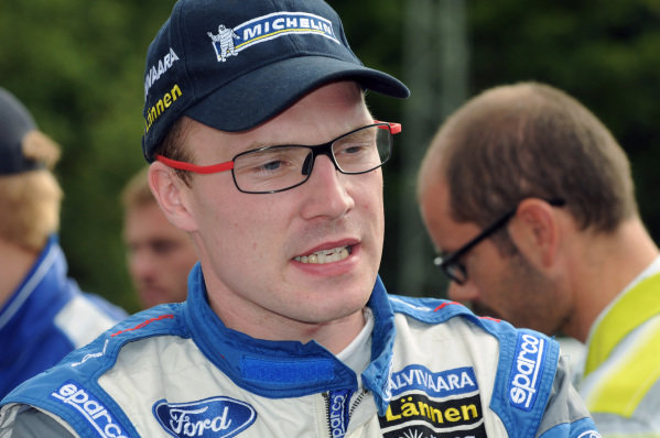 Jari-Matti Latvala (FIN) Ford.FIA World Rally Championship, Rd9, ADAC Rallye Deutschland, Day Two, Trier, Germany, 25 August 2012.
