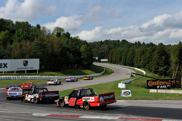 30 August - 1 September 2013, Bowmanville, Ontario Canada Mike Skeen, James Buescher, Chase Elliott, Ty Dillon, Max Papis, Miguel Paludo, German Quiroga Jr ©2013, Scott R LePage LAT Photo USA