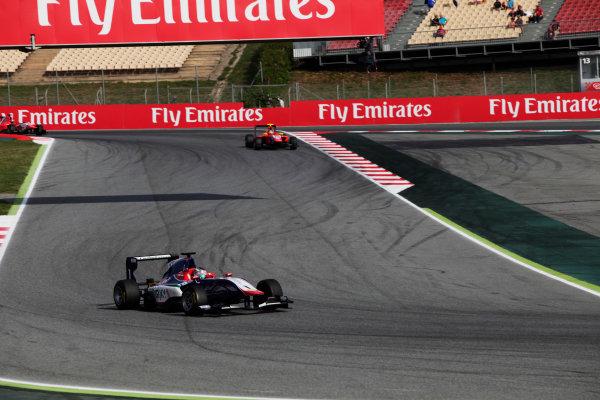 2015 GP3 Series Round 1. Circuit de Catalunya, Barcelona, Spain. Sunday 10 May 2015. Antonio Fuoco (ITA, Carlin). Photo: Zak Mauger/GP3 Series Media Service. ref: Digital Image _MG_7293