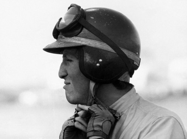 East London, South Africa.30/12/64-1/1/1965.Jochen Rindt (Cooper T73-Climax), retired, portrait. World Copyright: LAT Photographic.Ref:  Autosport Used Pic.