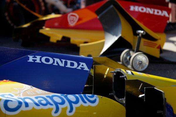 26-27 February, 2016, Avondale, Arizona USA Andretti Autosport paddock and parts ?2016, Phillip Abbott LAT Photographic