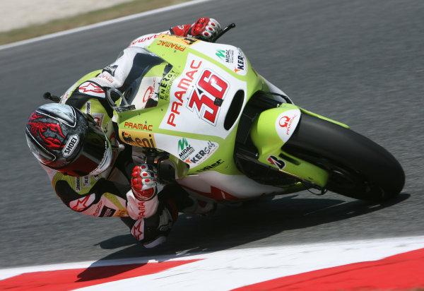Spain Catalunya 02-04 July 2010Mika Kallio Pramac Racing Team Ducati