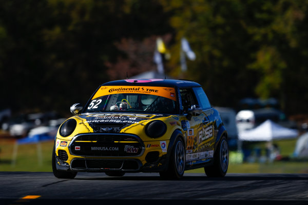 IMSA Continental Tire SportsCar Challenge Fox Factory 120 Road Atlanta, Braselton GA Thursday 5 October 2017 52, MINI, MINI JCW, ST, Jared Salinsky, Mark Pombo World Copyright: Jake Galstad LAT Images