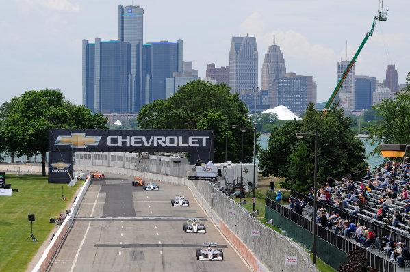1-2 June, 2012, Detroit, Michigan, USAOliver Webb leads the field(c)2012, Camden ThrasherLAT Photo USA