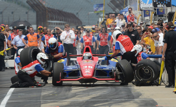 25 May, 2012, Indianapolis, Indiana USAGraham Rahal #38 Service Central Chip Ganassi Racing during pitstop competition(c)2012 Dan R. Boyd LAT Photo USA