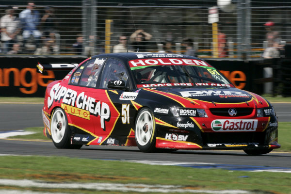 2005 Australian V8 SupercarsAlbert Park, Melbourne, Australia. 4th - 6th March.Greg Murphy (Commodore VZ). Action. World Copyright: Mark Horsburgh/LAT Photographicref: Digital Image Only