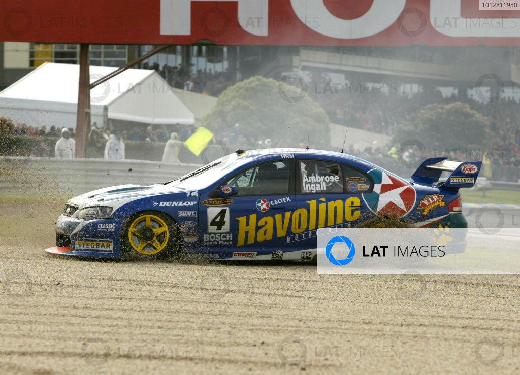 2003 Australian V8 Supercars, Round 9, Sandown, 14th September 2003.