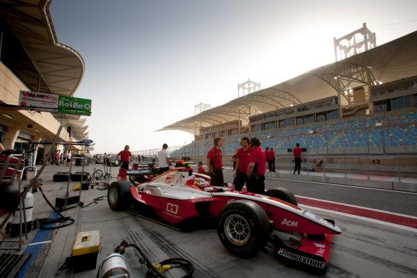 Bahrain International Circuit. Sakhir, Bahrain.Thursday Qualifying. 25th February.Sam Bird (GBR, ART Grand Prix). World Copyright: Alastair Staley/GP2 Media Service.Ref: _P9O0360 jpg