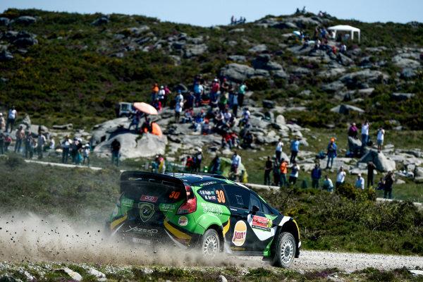Yazeed Al Rajhi (UAE) / Michael Orr (GBR), Yazeed Racing Ford Fiesta RS WRC at World Rally Championship, Rd5, Rally Portugal, Day One, Matosinhos, Portugal, 20 May 2016.