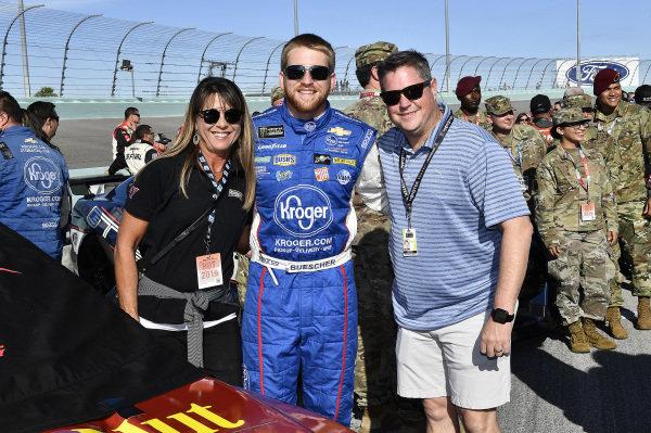 #37: Chris Buescher, JTG Daugherty Racing, Chevrolet Camaro Honey Nut Cheerios