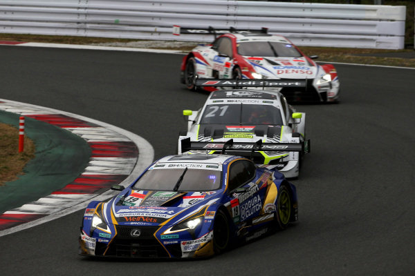 Yuji Kunimoto, Lexus Team Bandoh Lexus LC500, Benoit Treluyer, WRT Hitotsuyama Team Audi Sport Audi RS5 DTM.