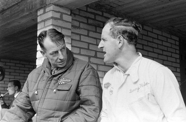 Ron Tauranac and Denny Hulme.