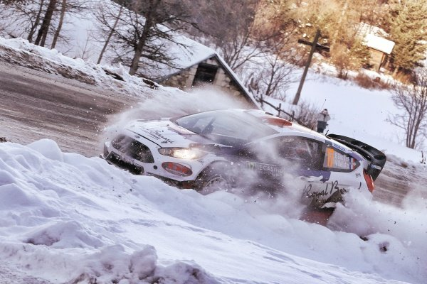 Bryan Bouffier (FRA) / Victor Bellotto (FRA) Ford Fiesta WRC at FIA World Rally Championship, Rd1, Rally Monte Carlo, Day Two, Monte Carlo, Monaco, 23 January 2016.