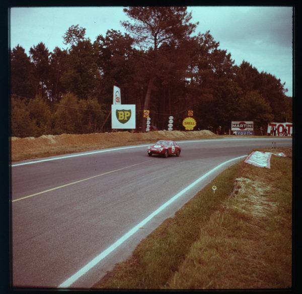 1961 Le Mans 24 hours.Le Mans, France.10-11 June 1961.Paul Condriller/Karl Foitek (Abarth 700S-Fiat).Ref-3/0292.World - LAT Photographic