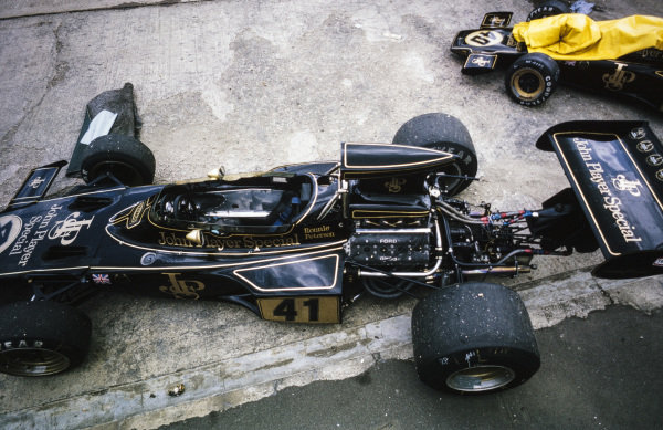 Ronnie Peterson's spare Lotus 72E Ford.