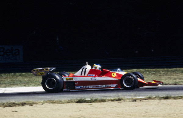Carlos Reutemann, Ferrari 312T3.