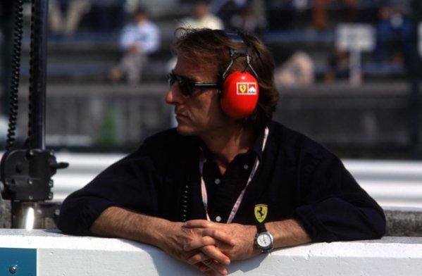 Japanese Grand Prix.Suzuka, Japan.30/10-1/11 1998.Ferrari President Luca di Montezemolo.World Copyright - LAT Photographic