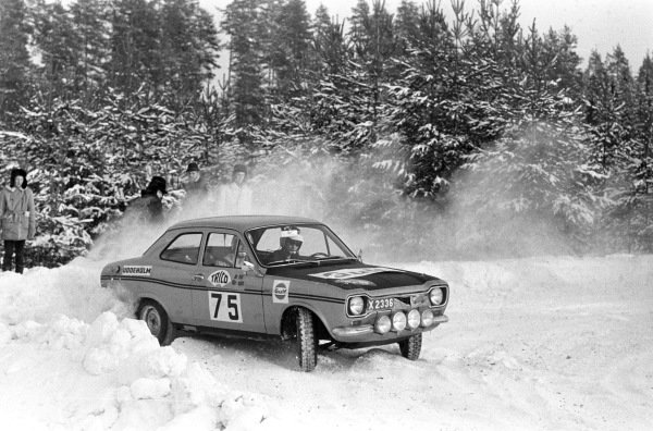 Ingemar Frohm / Bo Ottoson, Ford Escort MkI.